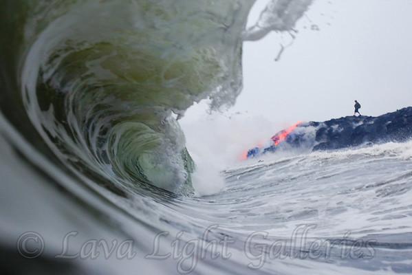 Lava surf