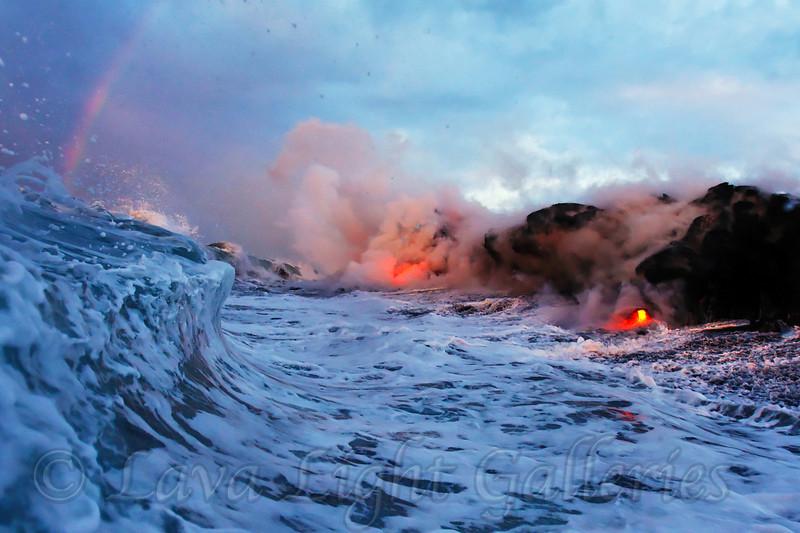 Rainbow Lava Wave