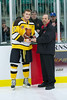 Most Improved Prospect:  Ryan Van Stralen, Smiths Falls Bears<br /> A 17 year old power forward who scored 24 goals and tallied 52 points has already acquired a full scholarship to Clarkson University.