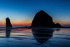 Sunset at Cannon Beach, OR