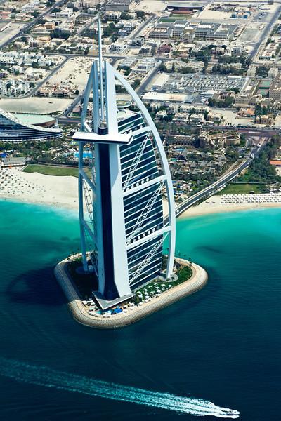 Burj Al Arab Hotel in Dubai - United Arab Emirates