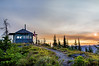 Sunrise at Suntop Fire Lookout