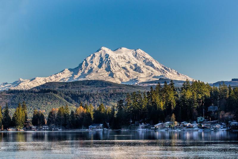 Mt Rainier, Clear Lake