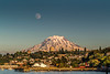 Mt Rainier, Tacoma Waterfront