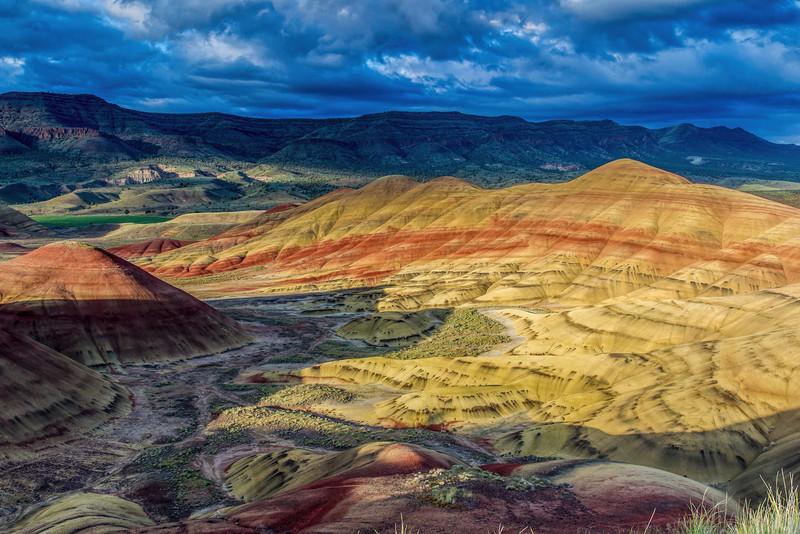 Painted Hills, Mitchel Oregon