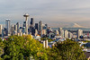 Seattle & Mt Rainier from Kerry Park