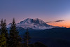 Mt Rainier from Suntop Lookout