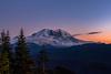 Mt Rainier from Suntop Lookout