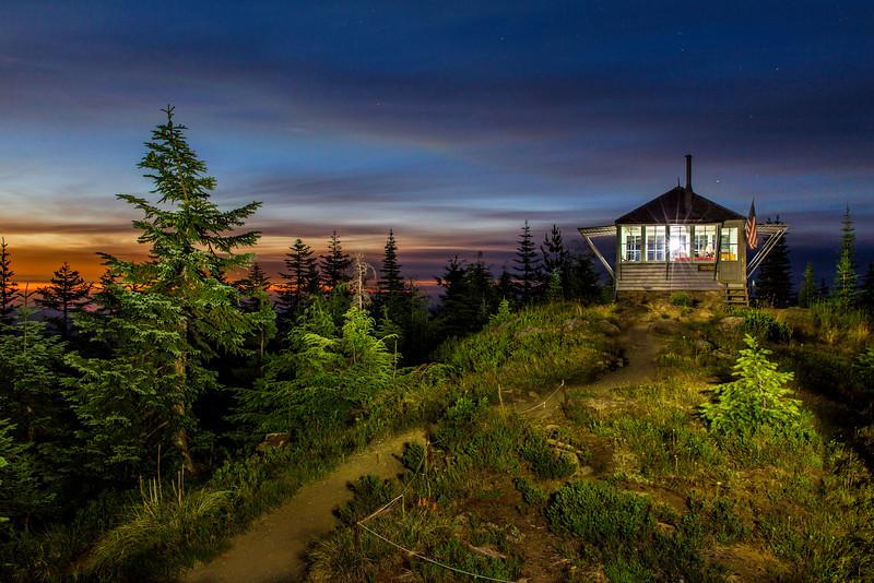 Sun Top Lookout, Washington