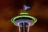 Seattle Space Needle, Seahawks
