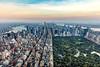 Central Park and New York Skyline