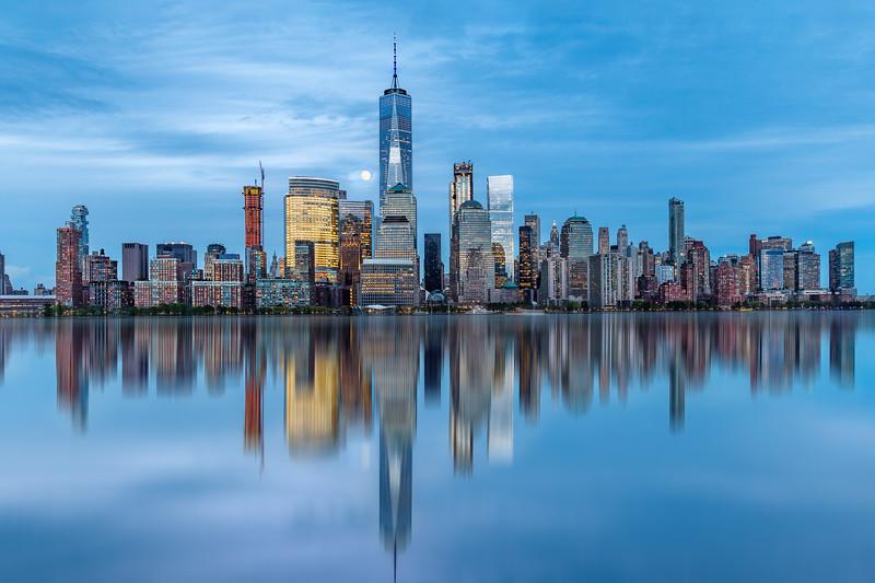 Lower Manhattan, One World Trade Center, New York