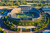 Aerial Views Of Autzen Stadium, University of Oregon Ducks Football Stadium