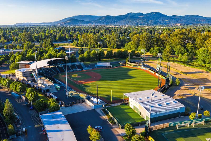 PK Park, University of Oregon Ducks Baseball Stadium