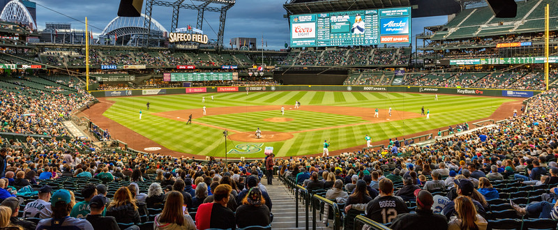 Safeco field home of the Seattle Mariners