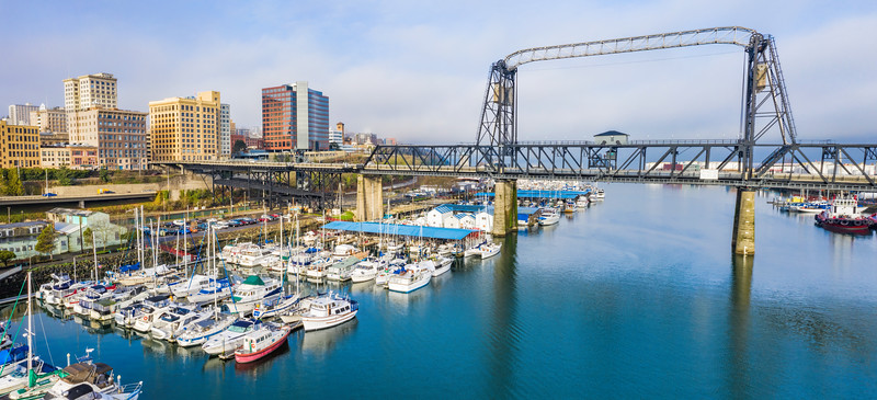 Tacoma, Washington Panoramic View