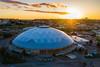 Aerial photo of the Tacoma Dome