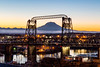 Tacoma Sunrise with Mt Rainier