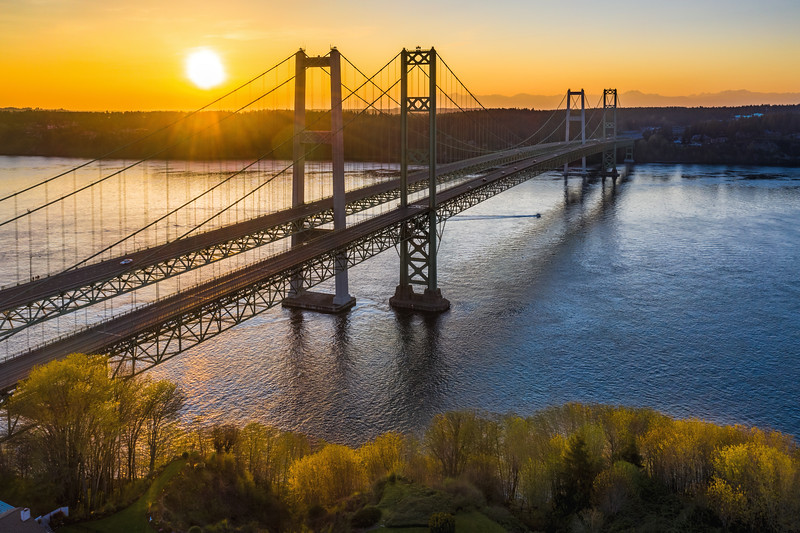 Narrows Bridge, Tacoma, Washington