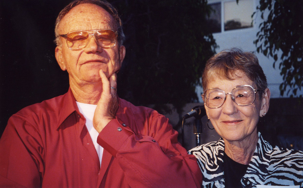 Jerry Jaeger and his wife at 50th Seminary Class Reunion