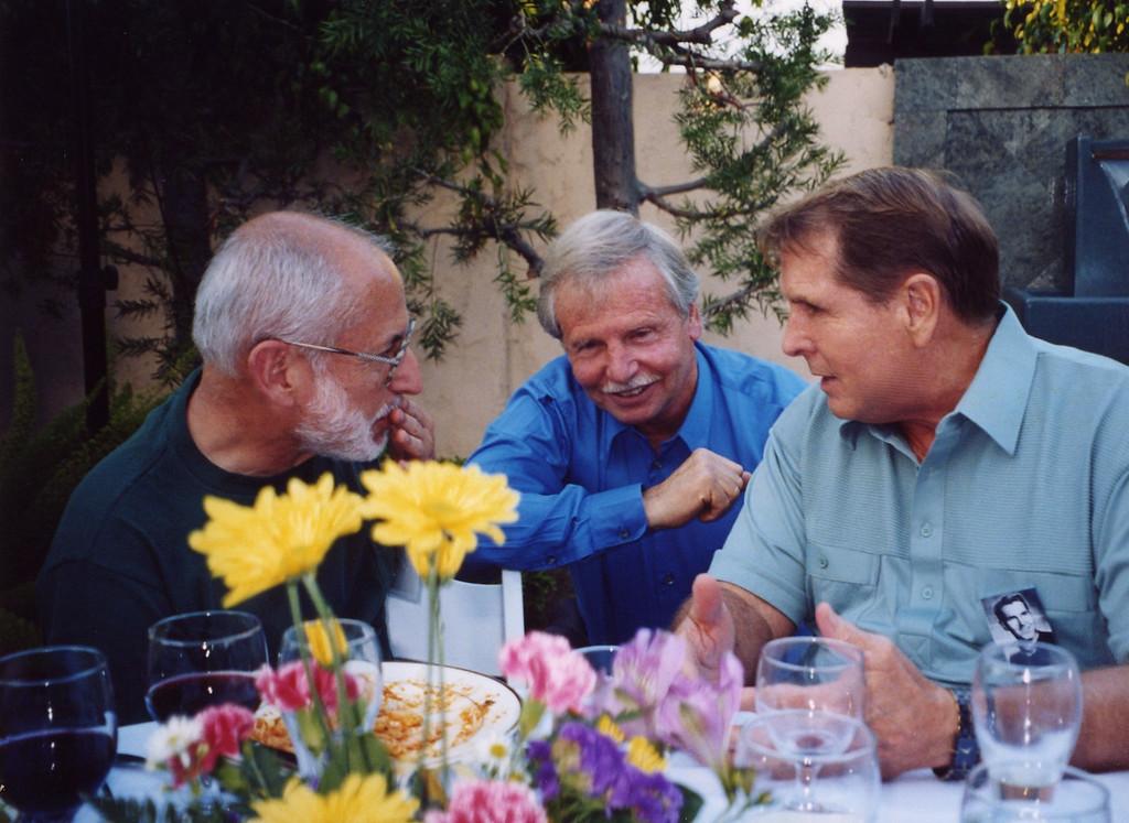 Joe, Reuben and Tom at 50th Seminary Class Reunion