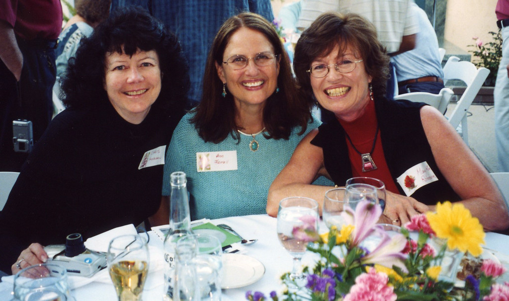 The three wives 50th  reunion