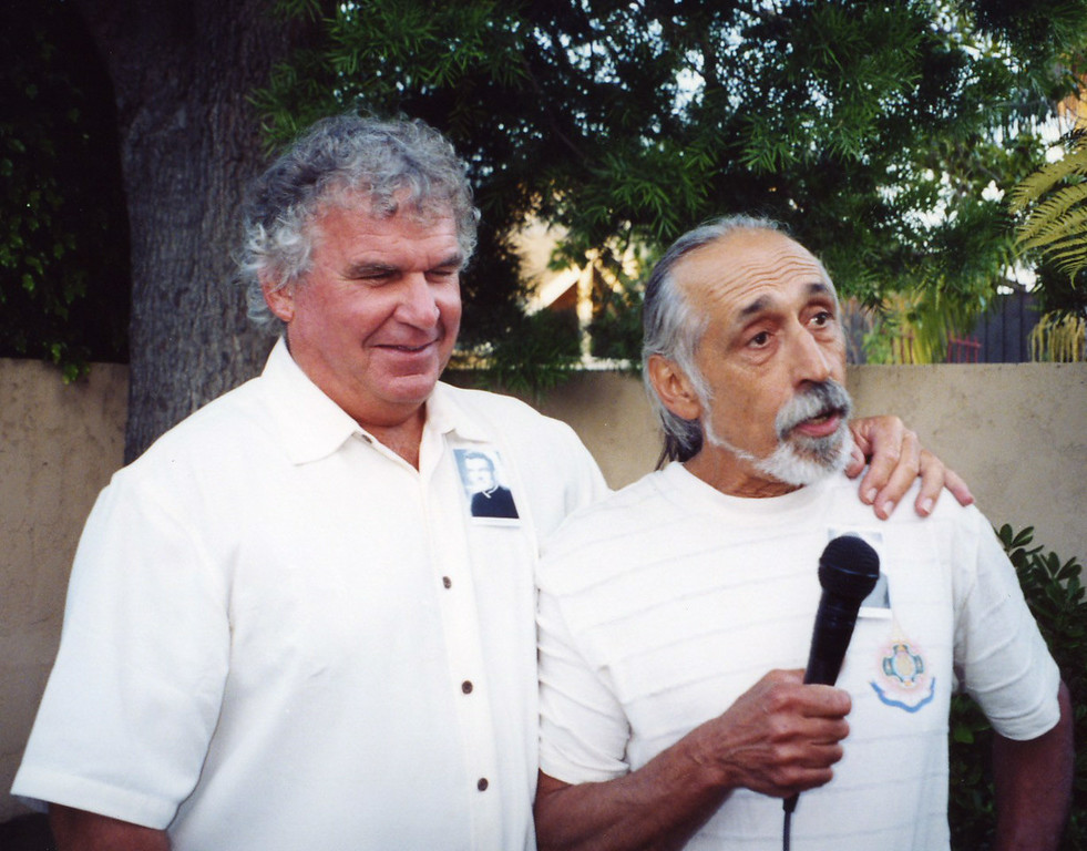 Tom Horan and Joe Amormino at 50th Seminary Class Reunion