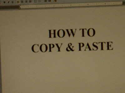 How To Copy & Paste