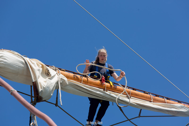 Swedish Tall ship Alva