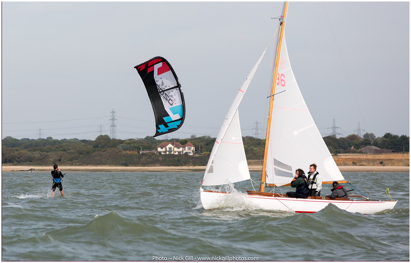 Kite Boarder on Starboard Skip!