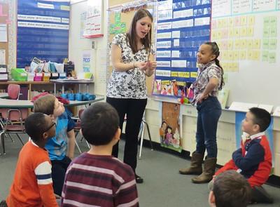 CLASSROOM OF THE WEEK - Samantha Farella's first-grade at Williams Elementary