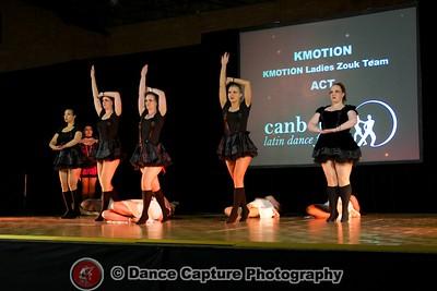 KMOTION Ladies Zouk Team