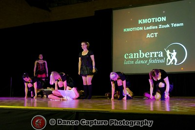 KMOTION Ladies Zouk Team