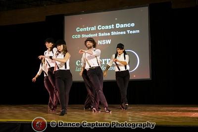 CCD Student Salsa Shines Team