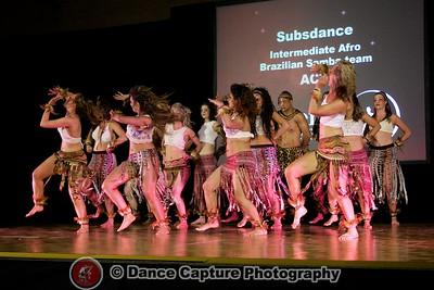 Subsdance Intermediate Afro Brazilian Samba Team