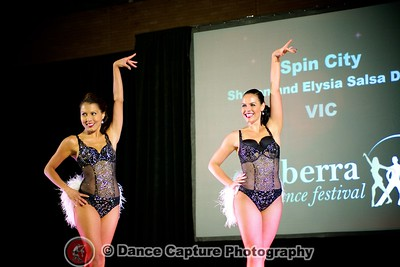 Sharon and Elysia Salsa Duet
