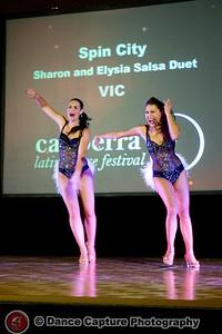 Sharon and Elysia Salsa Duet