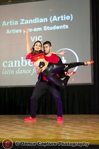 Arties pro-am students