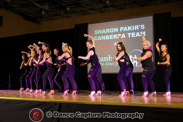Sharon Pakir's Canberra Team