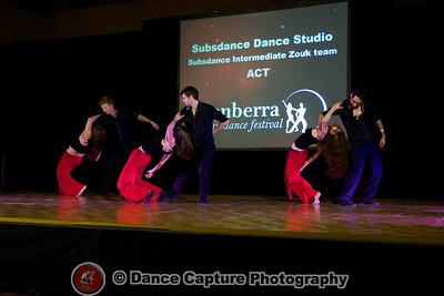 Subsdance Intermediate Zouk team