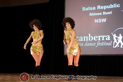 Salsa Republic Cha Cha Shines Duet