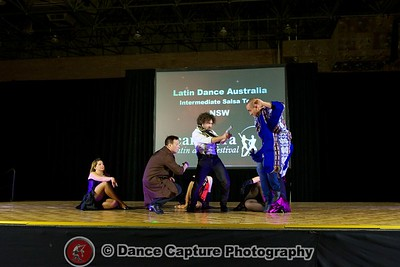 LDA Intermediate Salsa Team