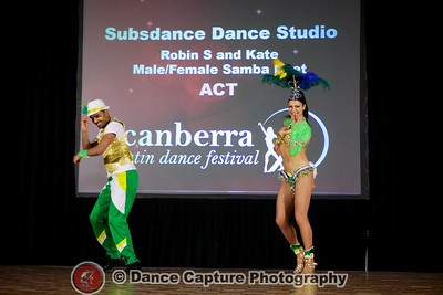 Robin & Kate - Samba Duet