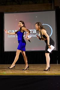 MC's Sharon Pakir Krygger and  Lidia McMahon Grigorian