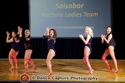 Salsabor Bachata Ladies Team