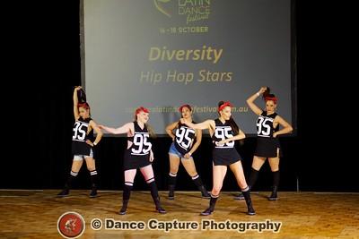 Diversity Hip Hop Stars