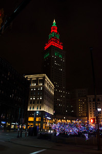 TOWER CITY AND PUBLIC SQUARE AT CHRISTMAS