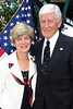 IMG_0239 Jane Collins and Rear Admiral LeRoy Collins Jr  (USNR-Ret ) is Executive Director of the Florida Dept  of Veterans' Affairs