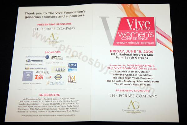IMG_0001 VIVE Magazine 's Women's Conference at PGA National Resort
