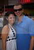 Ninalicia Osorio and Ross Bielejeski at the Palm Beach Yacht Club